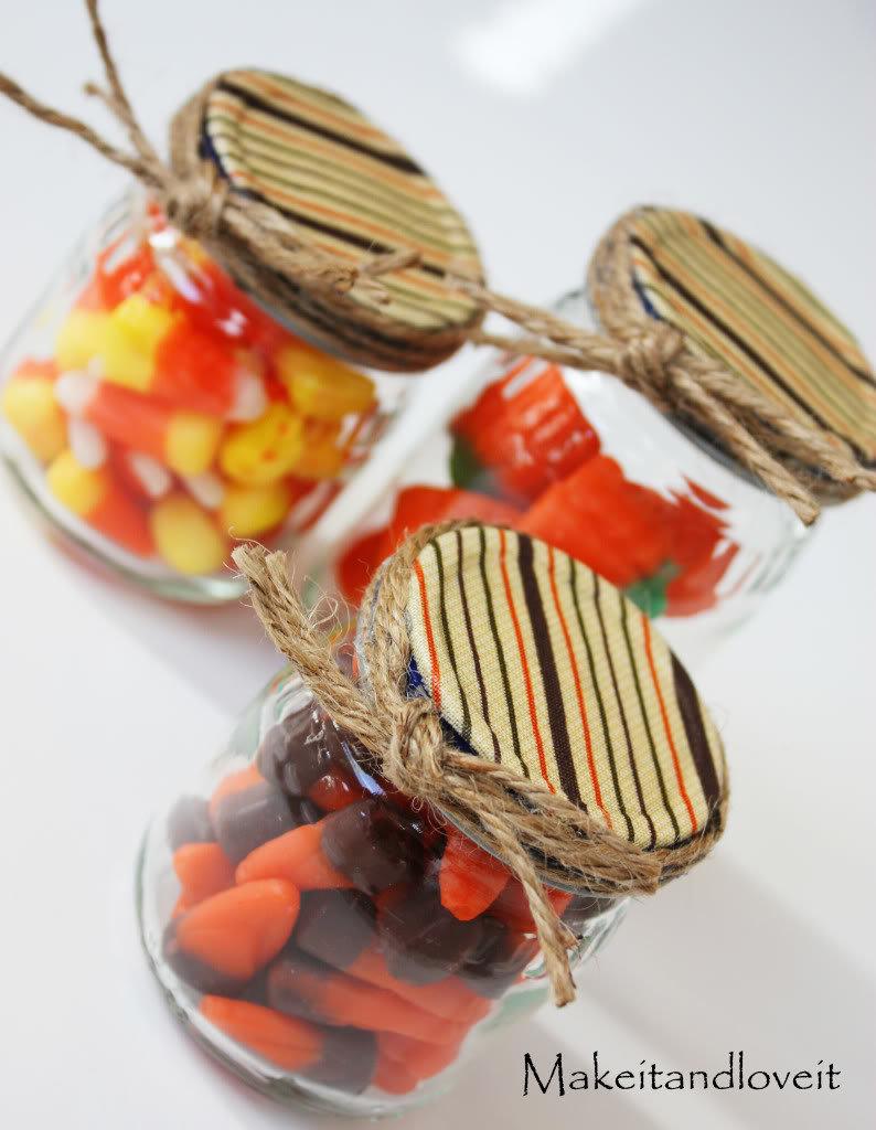 Сладости в подарочных баночках от детского питания