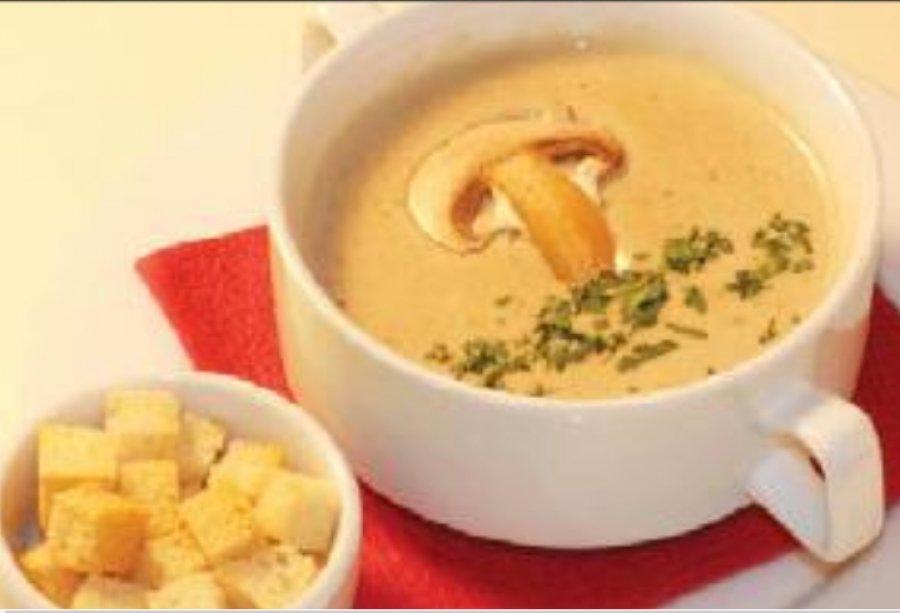 Как приготовить суп пюре из шампиньонов пошаговый