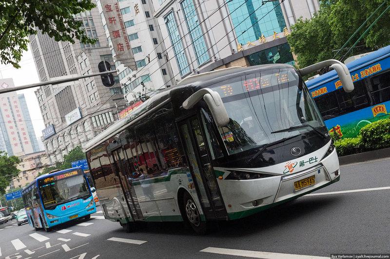 Китайские троллейбусы