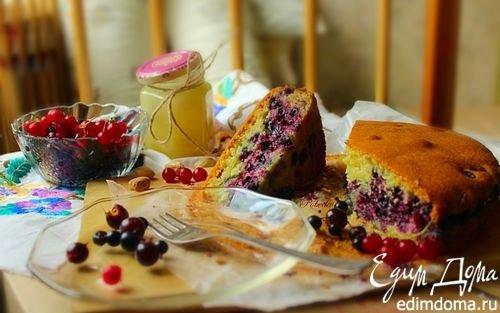 Пирог с ягодами   Кулинарные рецепты от «Едим дома!»