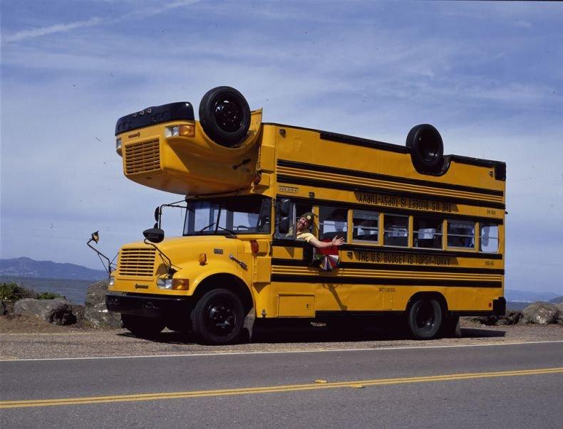 Прикольные картинки автобусы, картинки