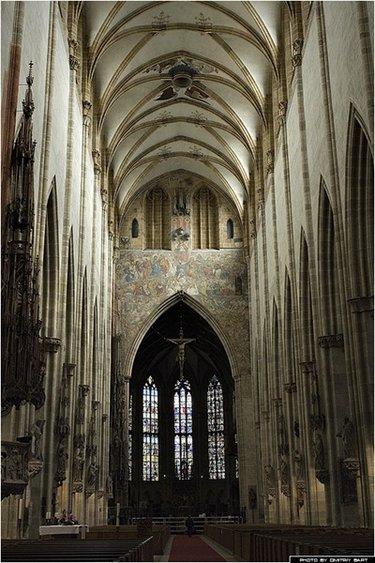 ульмский собор в германии внутри
