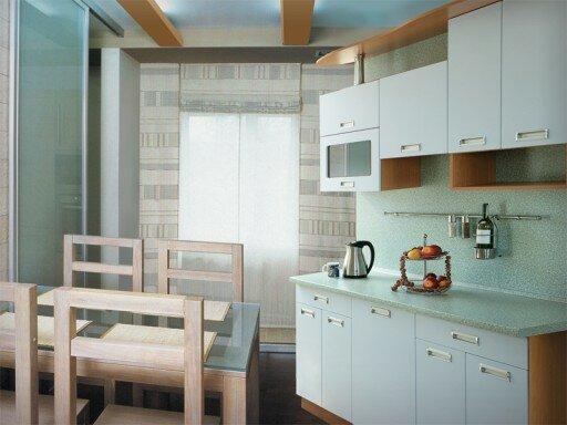 Если продумать интерьер маленькой кухни до мелочей, она вполне может стать функциональным и уютным помещением