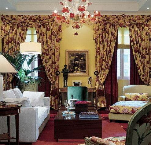 Обивка мебели и оформление окон текстилем