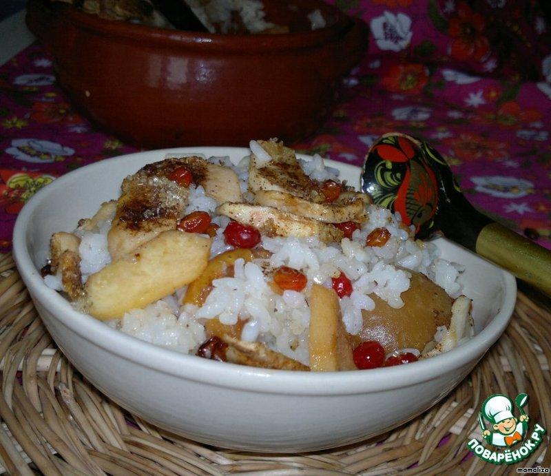 Рисовая каша в духовке рецепт с фото