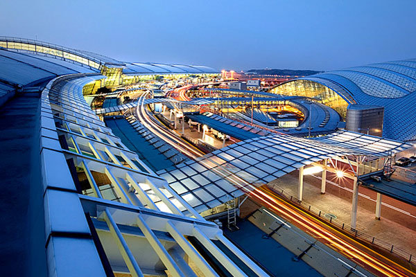 Международный аэропорт Инчхон, Сеул, Южная Корея