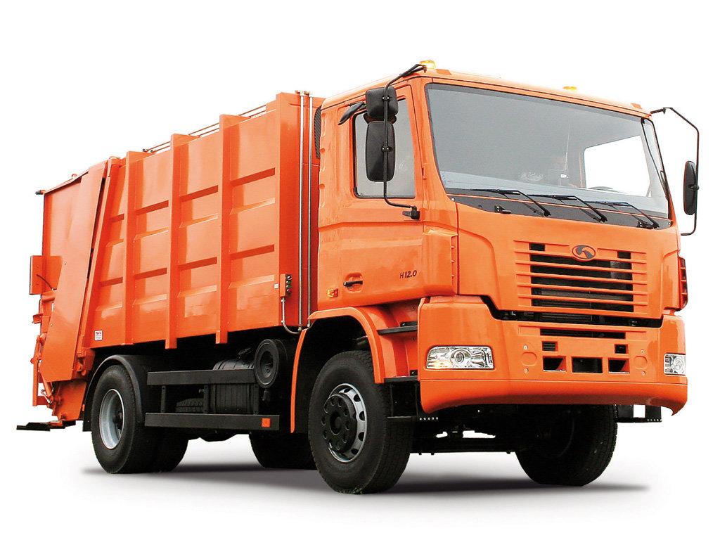 также фото машины мусоровоза коттеджном поселке белые