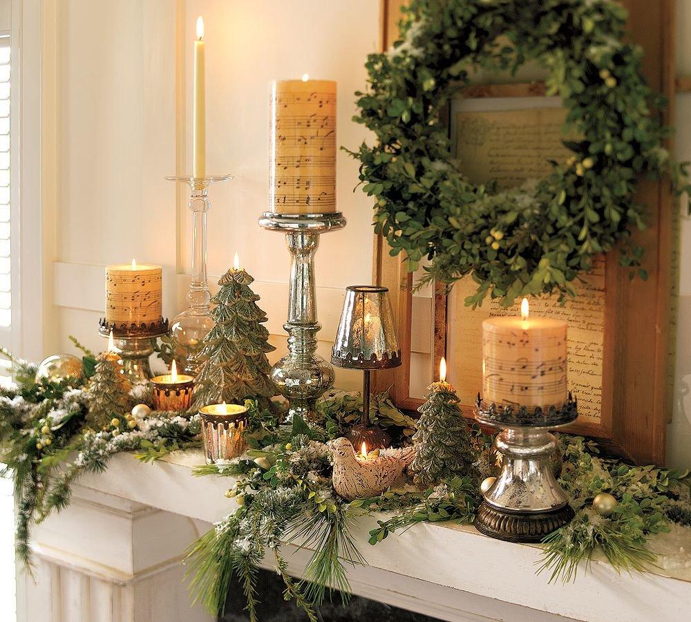Картинки новогодних украшений для дома, один год