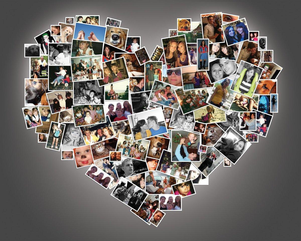 Картинки, создаем открытку из фоток