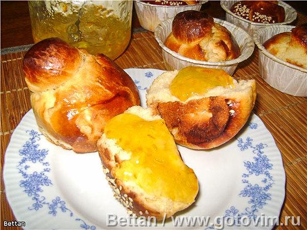 Бриоши - французский хлеб к завтраку