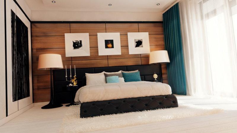 Идея спальни в современном стиле