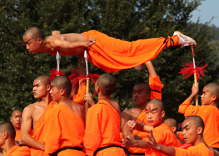 Картинки буддийских воинов