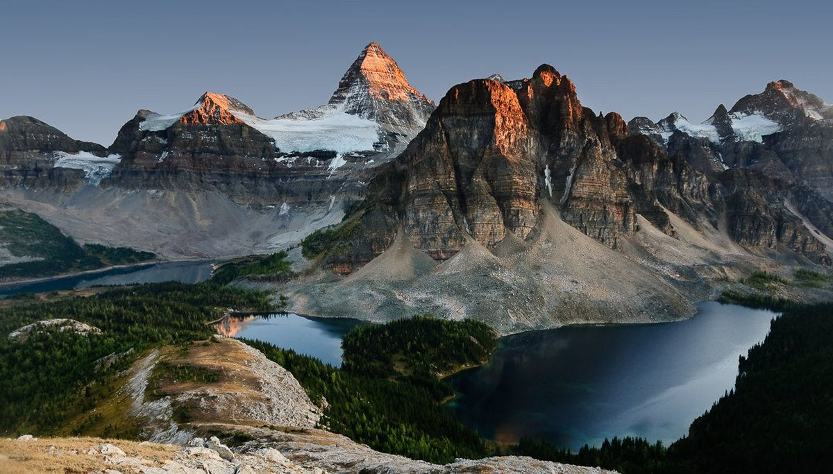 красивые горы мира фото с названием полутора