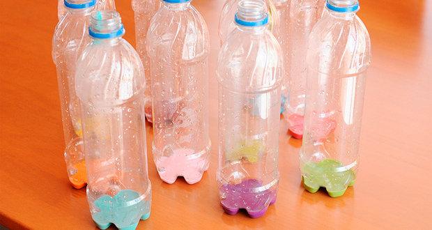 Игрушки своими руками: создаем поделки из пластиковых бутылок Настоящий боулинг из пластиковых бутылок Дети в городе