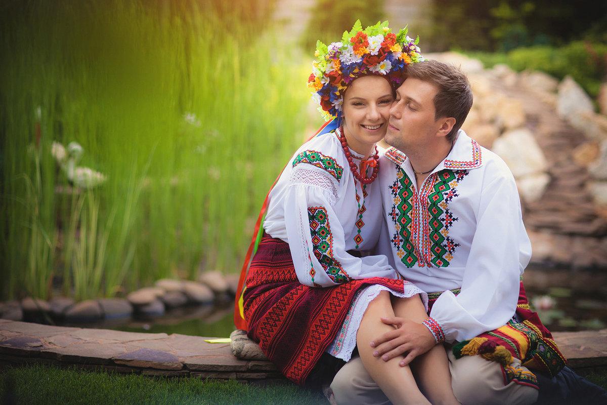 русская девушка с русским пацаном - 1