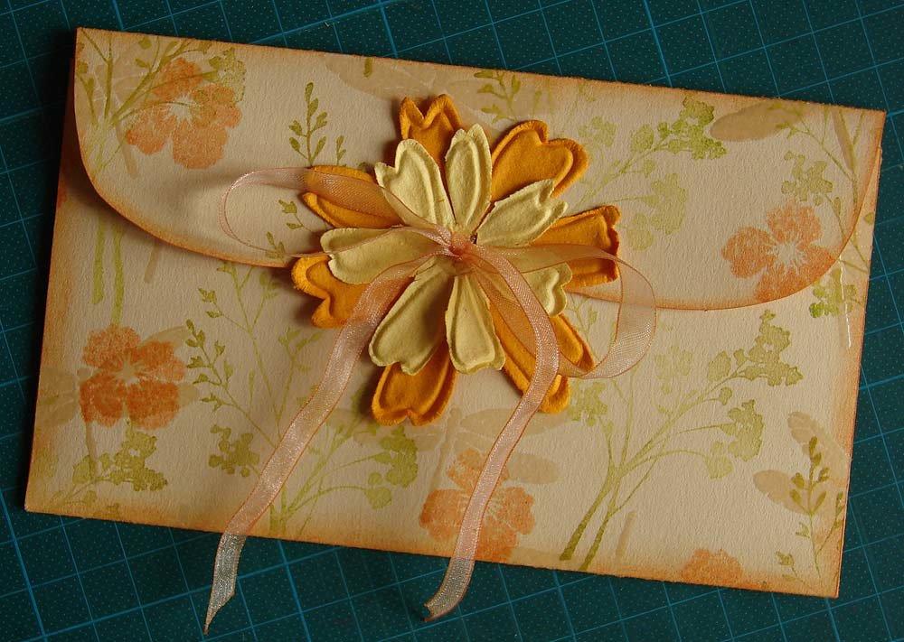 Словами красоте, самодельные открытки конверты