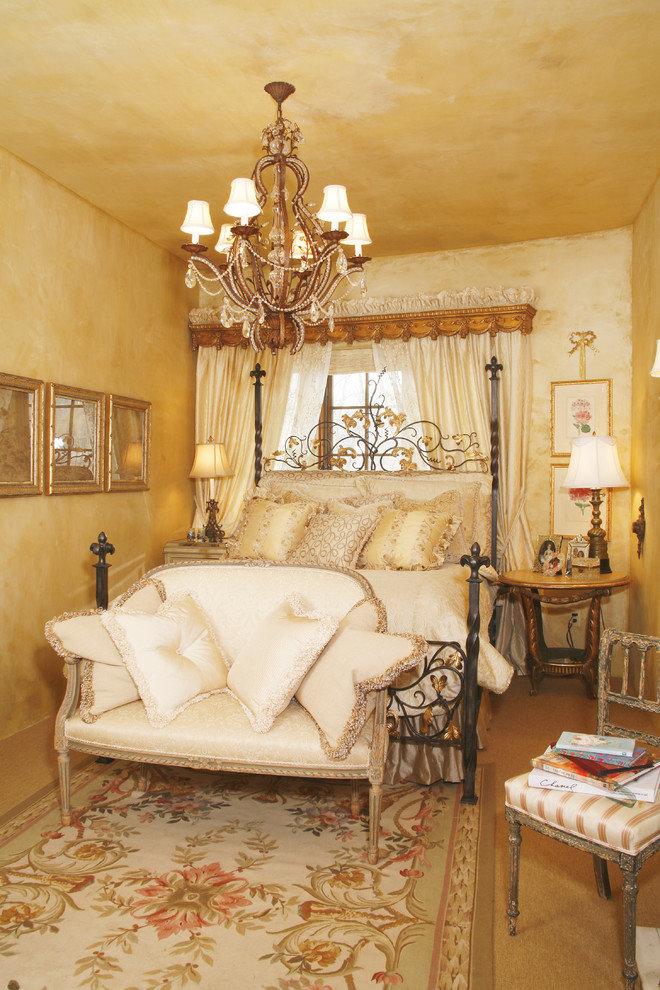 Золотая спальня Викторианский стиль