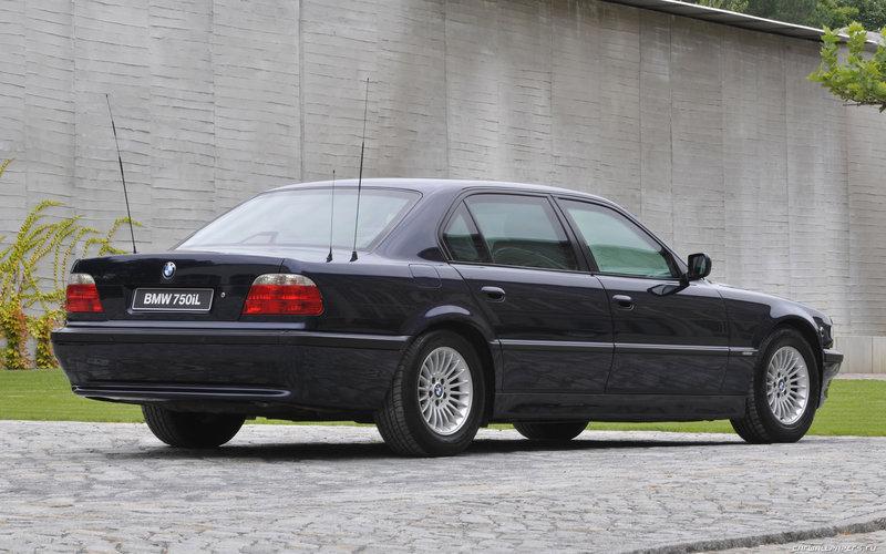 BMW 750iL Security (E38)