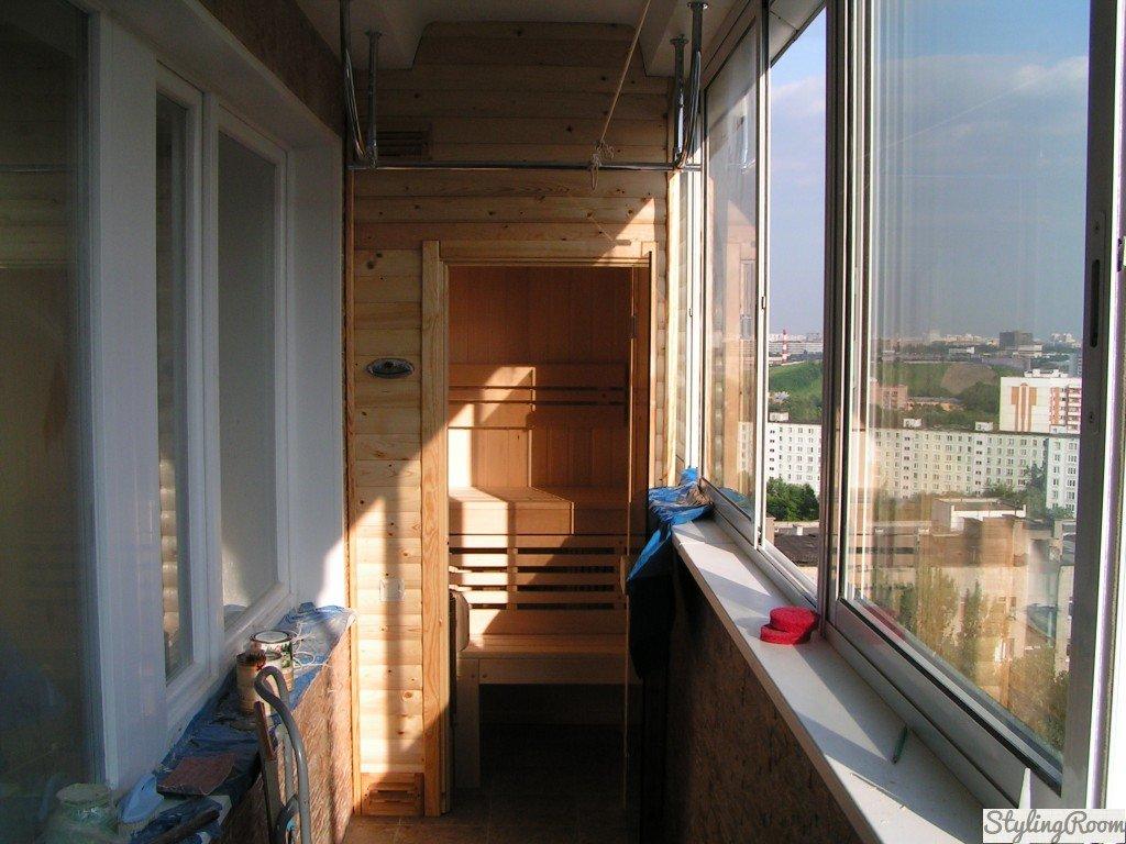 Домашня сауна в міській квартирі своїми руками - etti.com.ua.