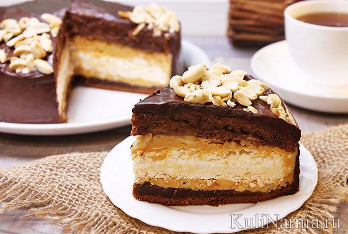 Самый шоколадный торт рецепт и фото