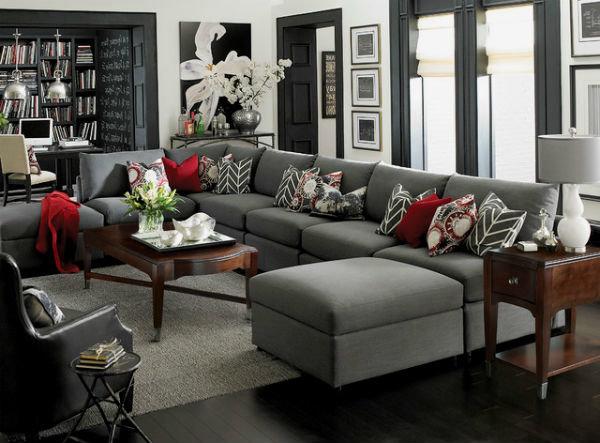 Накидка на диван: 30 Идей, как украсить и защитить мебель 36