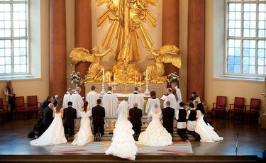 алтарь для венчания