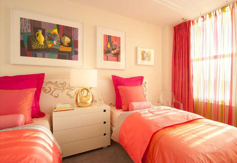 Дизайн комнаты для двух девочек разных возрастов