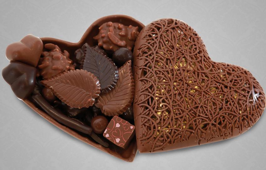 Шоколад необычные картинки