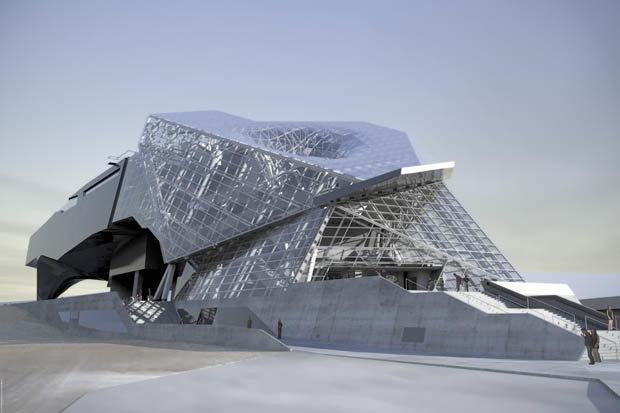 Музей Musee Des Confluences в Леоне от специалистов Coop Himmelb