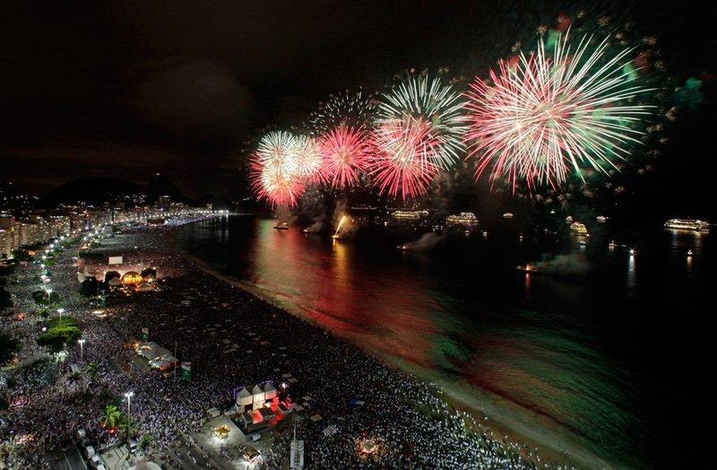 Новый год по бразильски