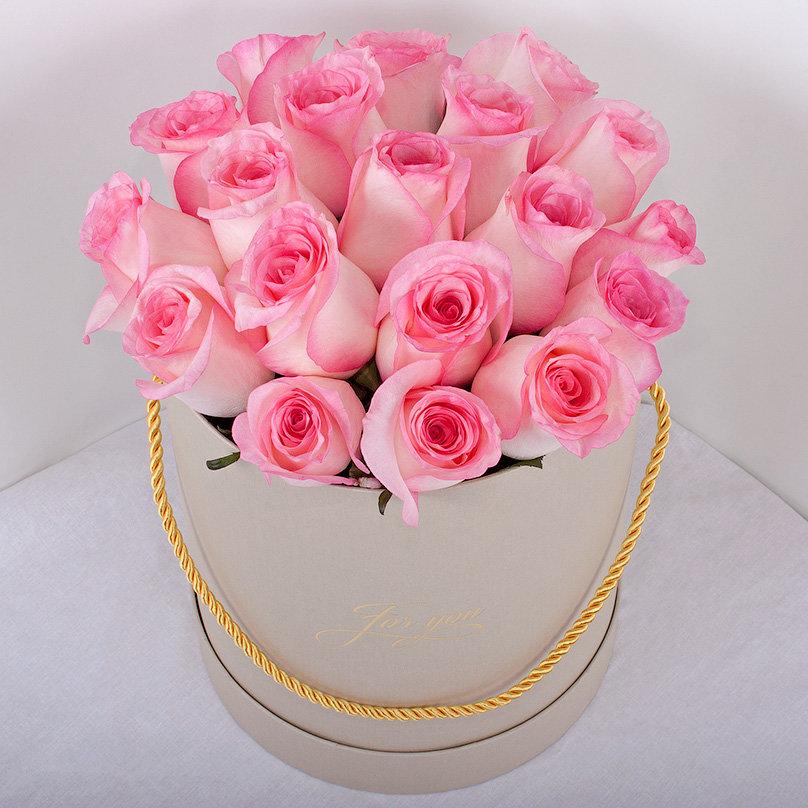 С днем рождения картинки букет розовых роз
