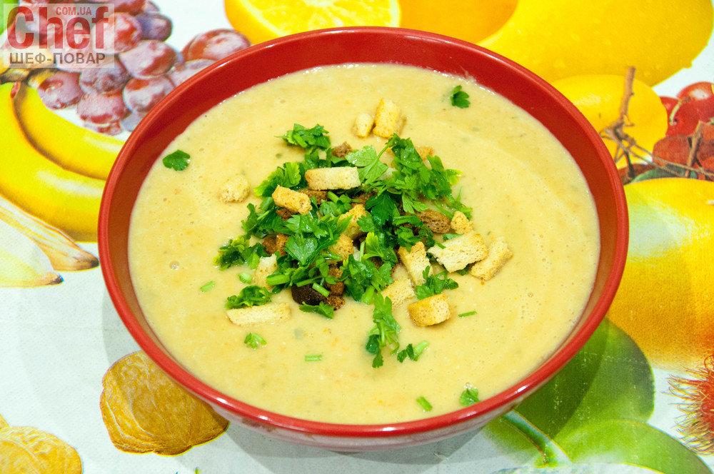 крем суп из цветной капусты и брокколи