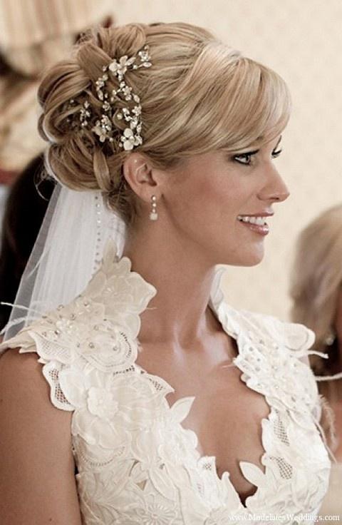 Причёски на свадьбу для невесты фото