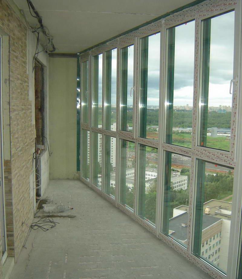 Двойное остекление балкона от специалистов в екатернбурге.