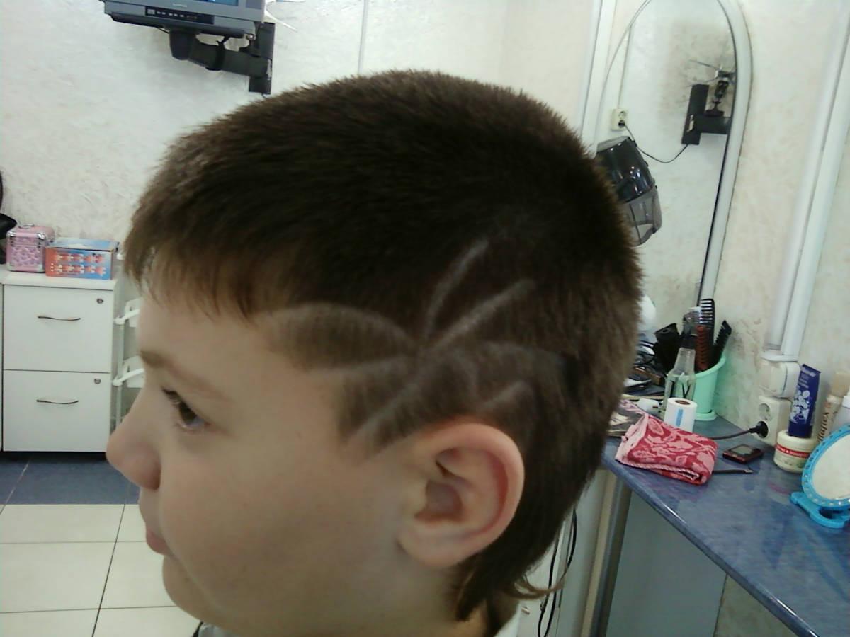 рисунки на голове фото для мальчиков