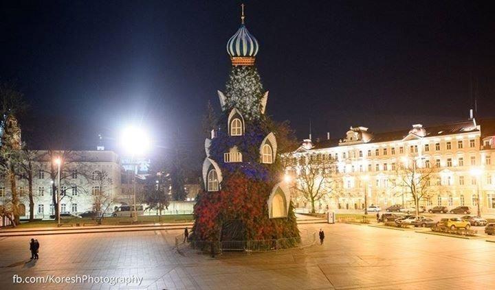 Вильнюсская рождественская елка