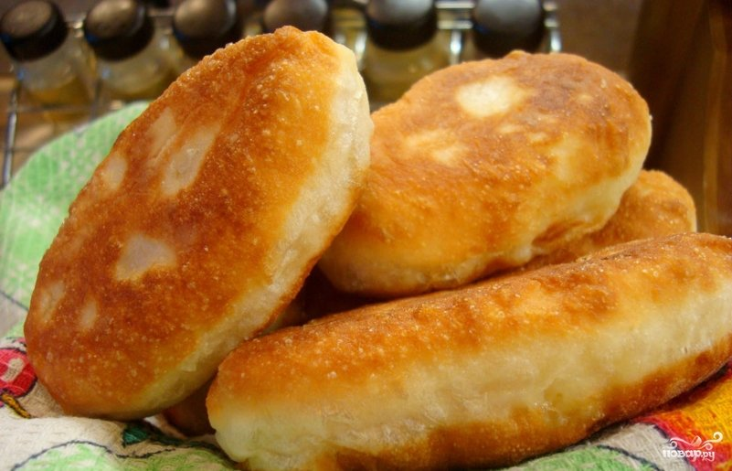 Домашние жареные пирожки рецепты фото
