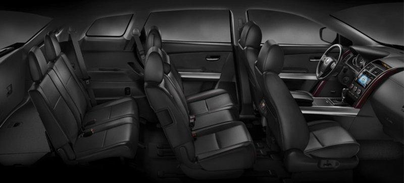 Mazda CX-9. Интерьер салона