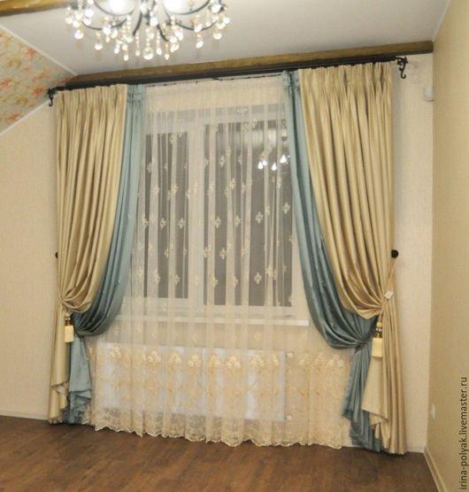Вуаль с вышивкой для штор