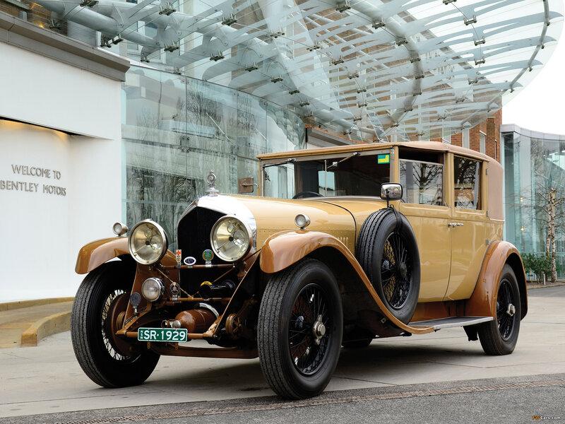 Bentley 6 ½ Litre Sedanca de Ville by Mulliner '1929