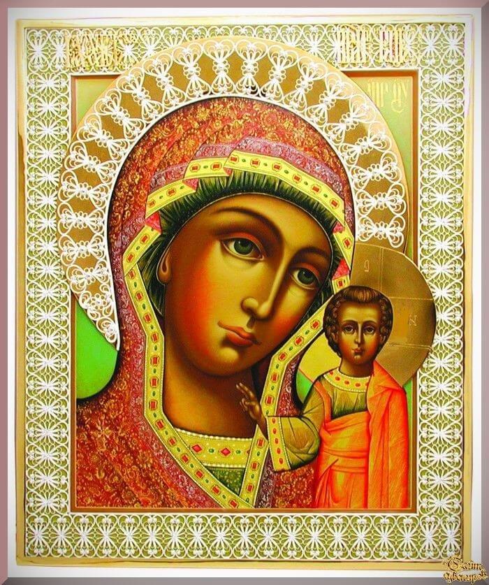 божья матерь казанская картинка фото доставлена быстро