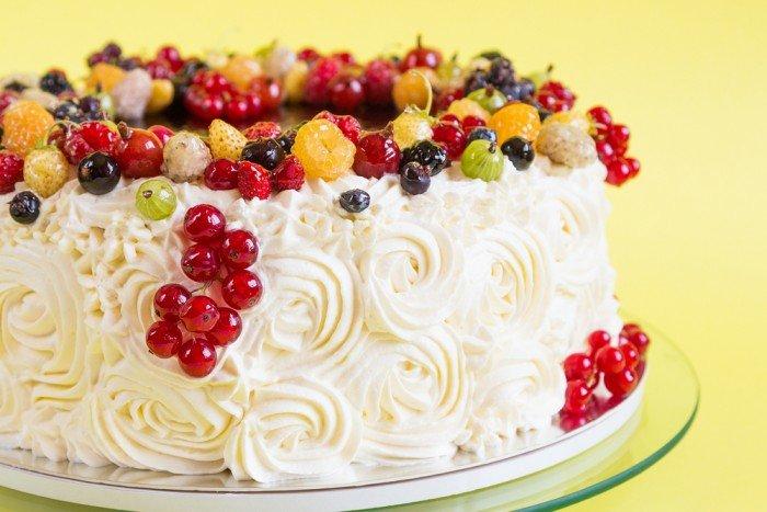 Смородиновый торт