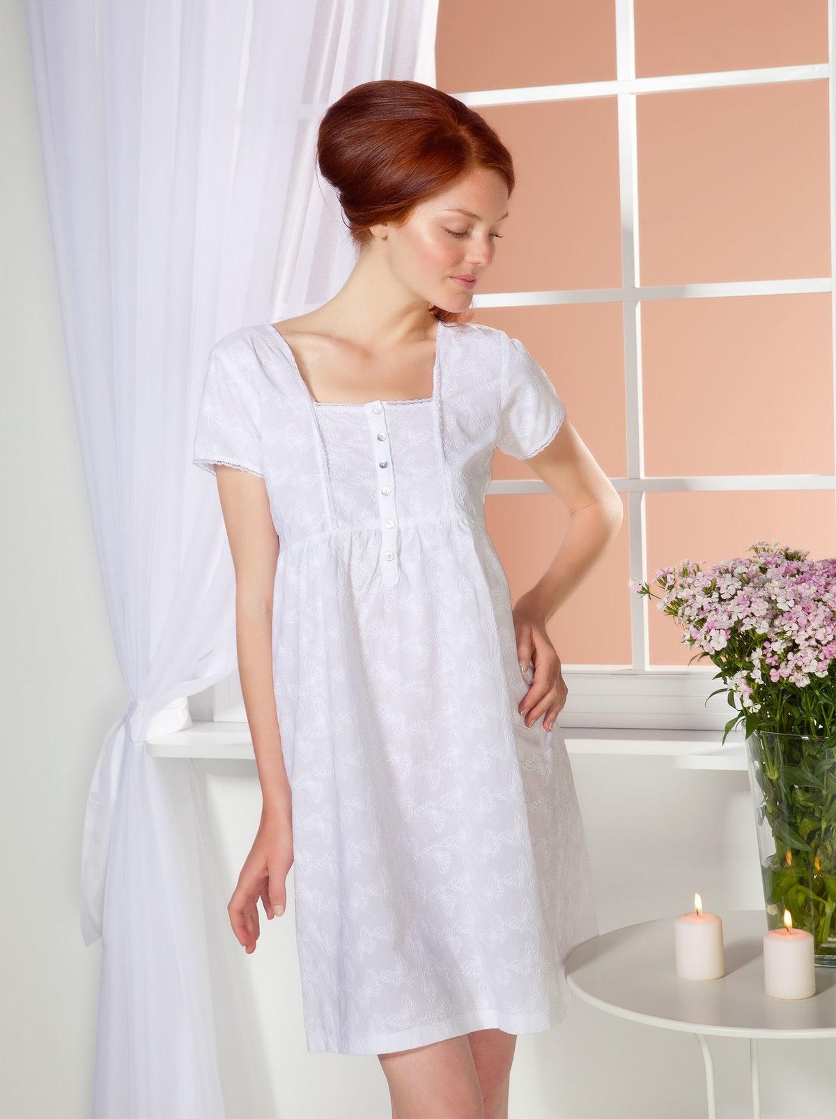 женские ночные рубашки ретро цена его