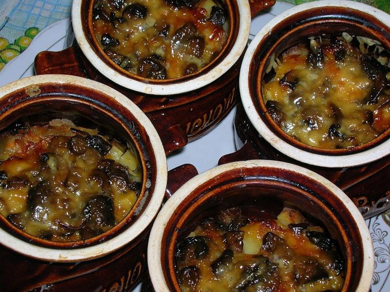 Блюдо у вас получится вкусным, а крышечка приготовленная из теста пропитается ароматом блюда и прекрасно его дополнит.