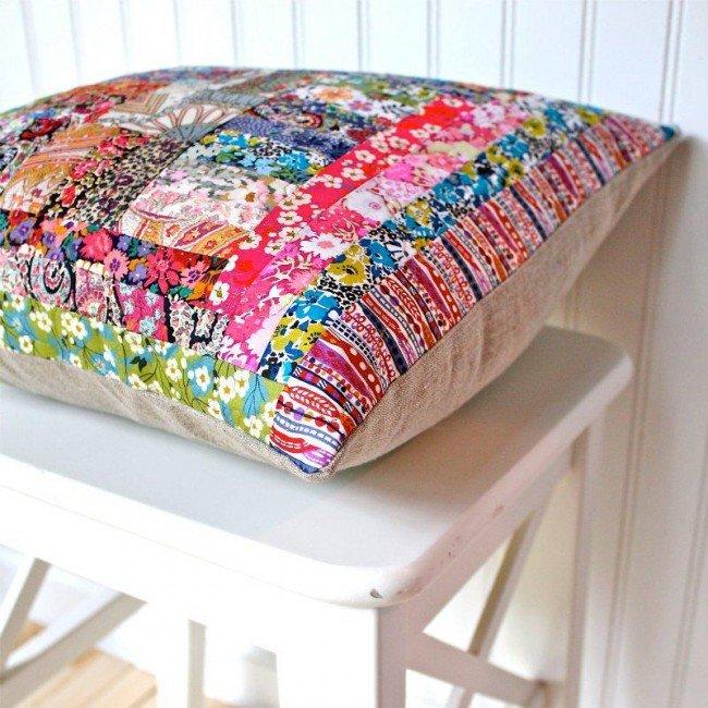 Декоративные подушки своими руками мастер класс схемы фото 145