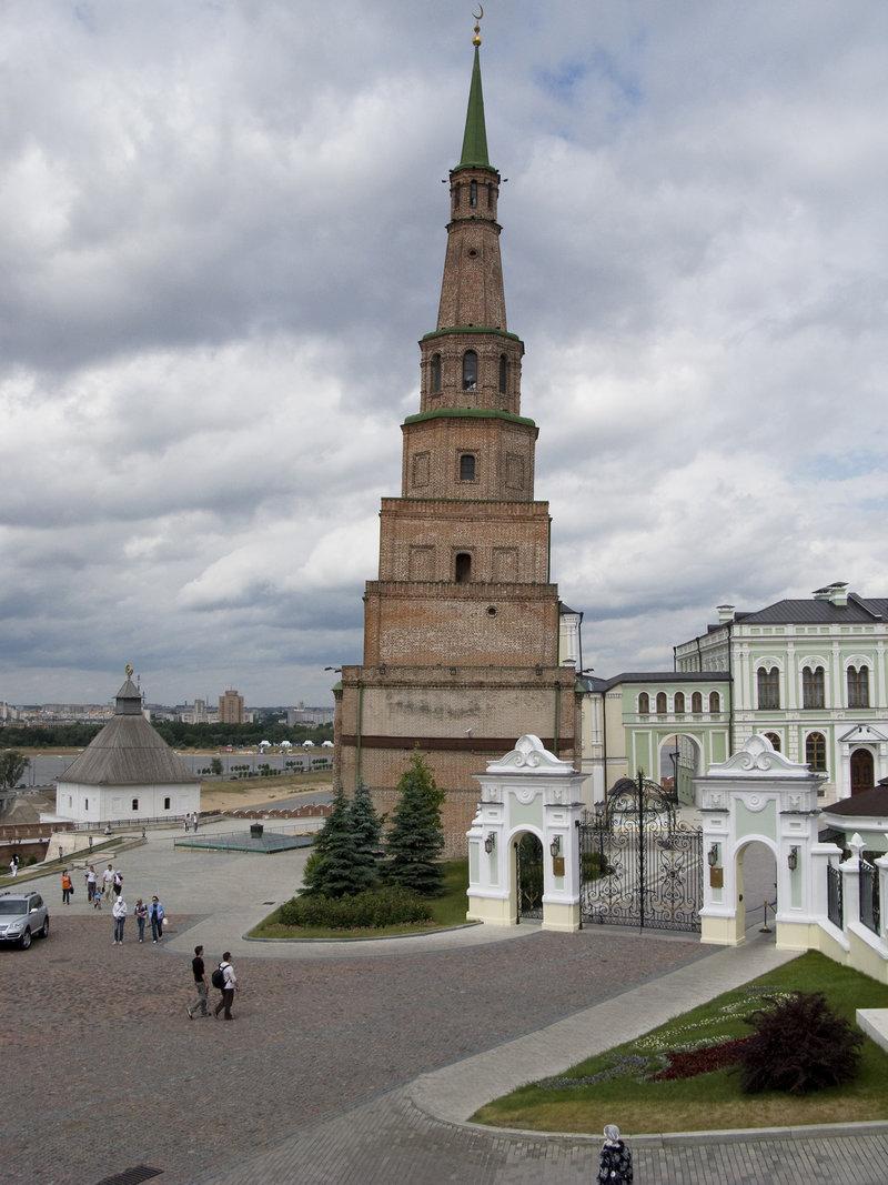 Башня Сююмбике (Россия) — описание, история, расположение.