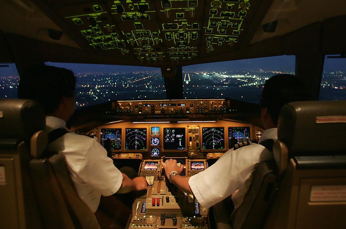 объявил картинка кабина самолета без пилота собак имеют огромную