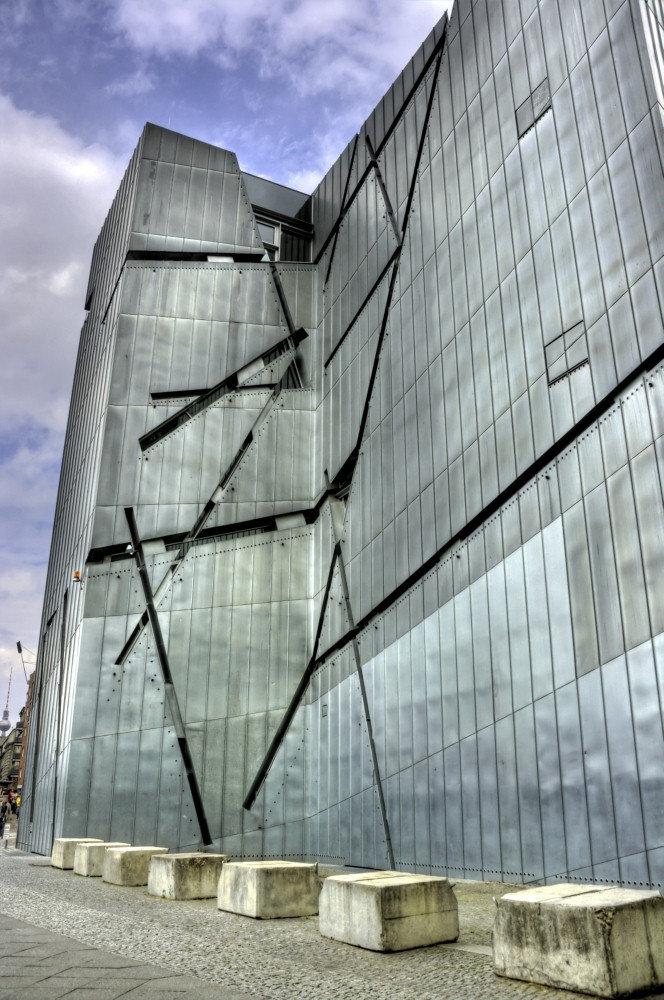 Еврейский музей, Берлин, Германия.