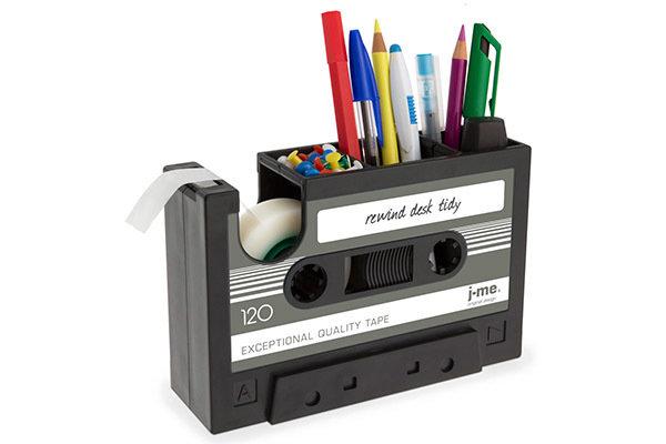 Органайзер для рабочего стола rewind графит.