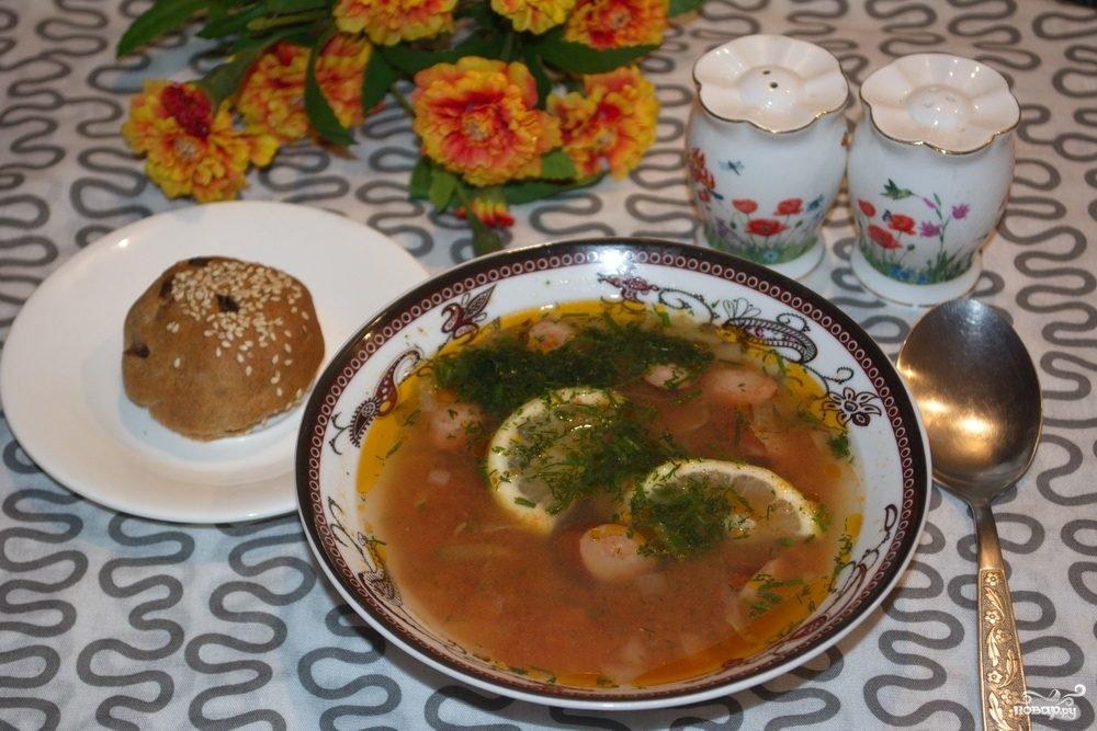 солянка сборная колбасная рецепт с фото пошаговый